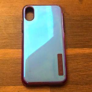 Incipio iPhone X Case Iridescent Purple